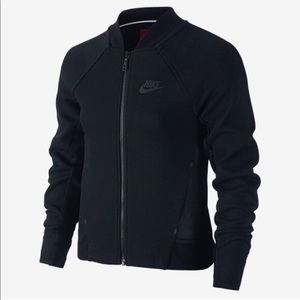 Nike Jackets & Coats - Nike Girls Tech Fleece Bomber Jacket
